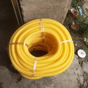 特价 特价 特价处理 25黄色厚型波纹管30米一圈20元